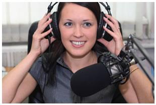 female-announcer