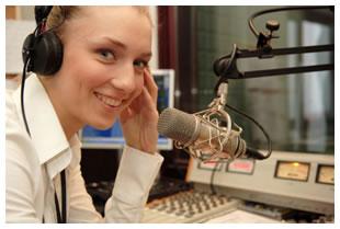 woman-radio-announcer